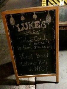luke's sign