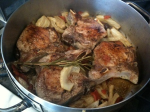 Pork Chops with Fennel
