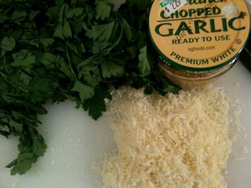 Parmesan, Parsley and Garlic