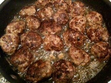Sauteed Meatballs