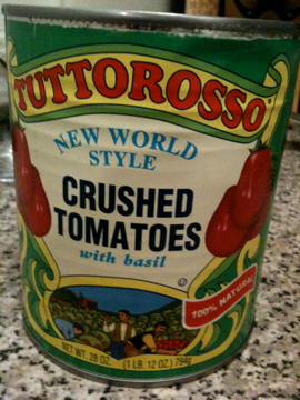 Tuttorosso crushed tomatoes