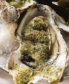 Herbed Oysters