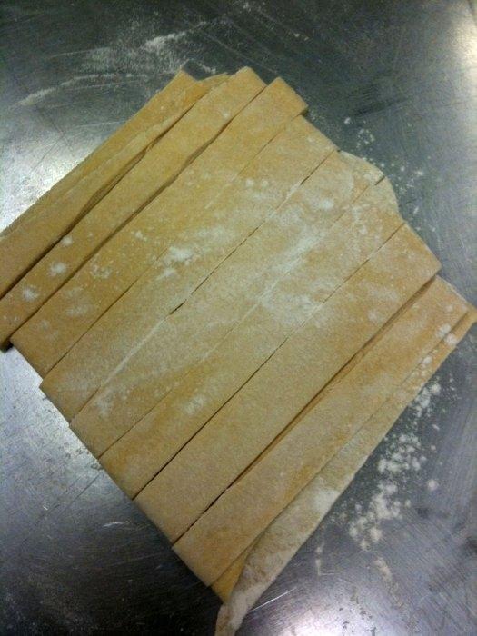 Handmade Tagliatelle