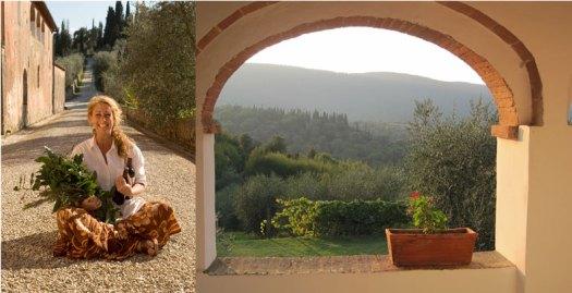 Gina Stipo at Ecco la Cucina, Tuscany