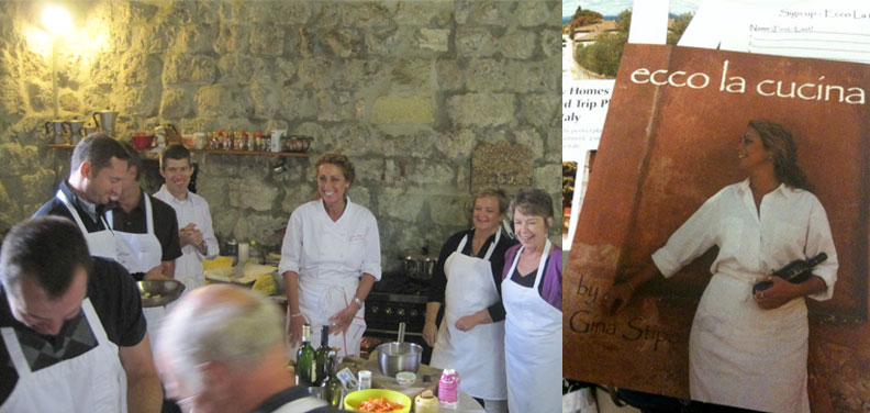 Gina's Cooking Class, Ecco la Cucina Cookbook