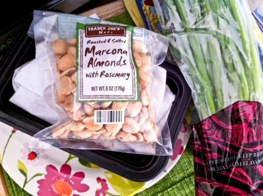 Rosemary Marcona Almonds and Green Onions