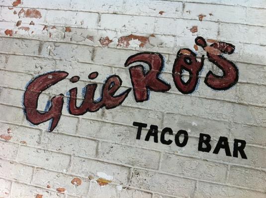 Gueros Taco Bar - SoCo