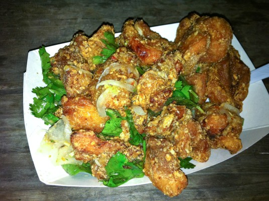 Korean Fried Chicken Bites - Liberty Trailer Park
