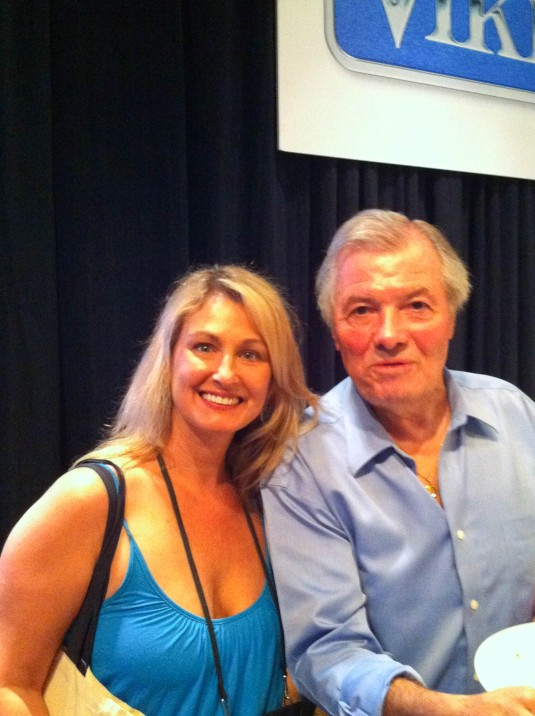 Kristen with Chef Jacques Pepin