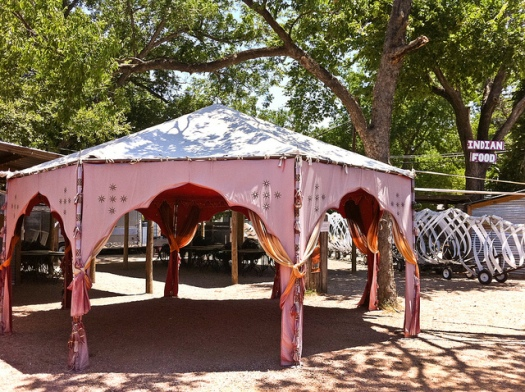 Indian Food Tent