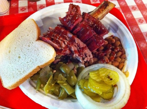 IronWorks BBQ - Beef Brisket, Ribs and Sausage