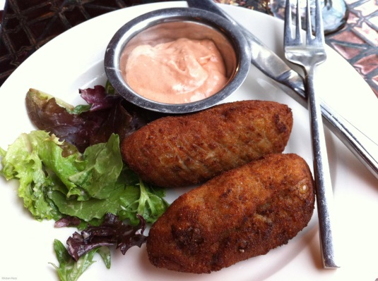 Chicken and Mushroom Croquettes