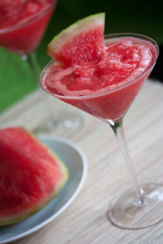 Frozen Watermelon Martini