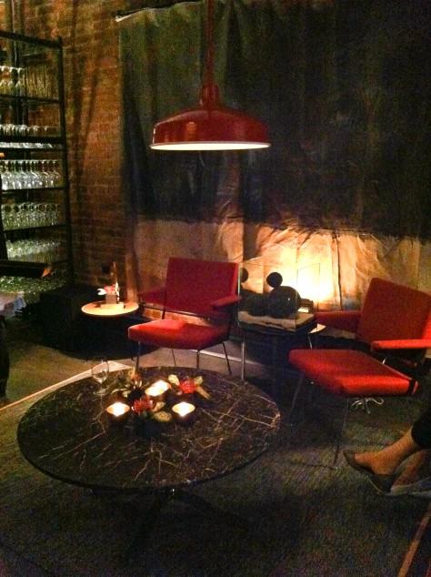 Tasting Table Lounge