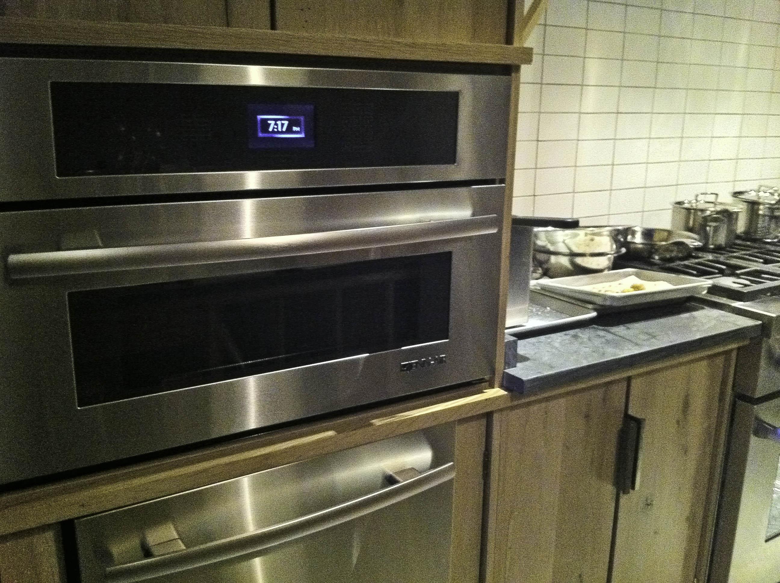 Brown Kitchen Appliances