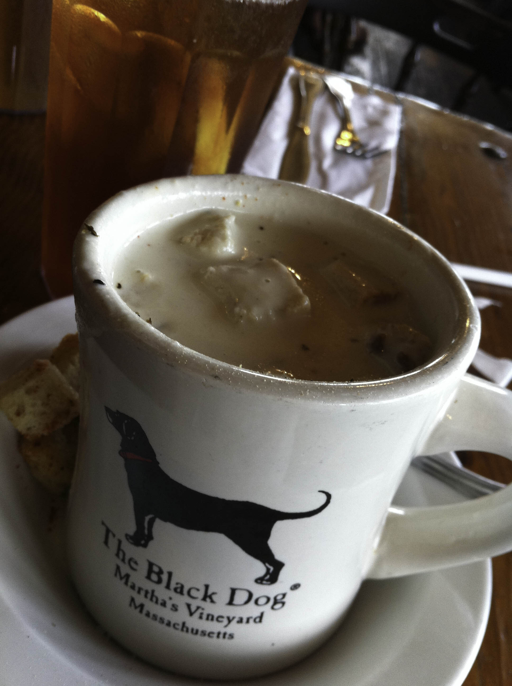 Black Dog Clam Chowder