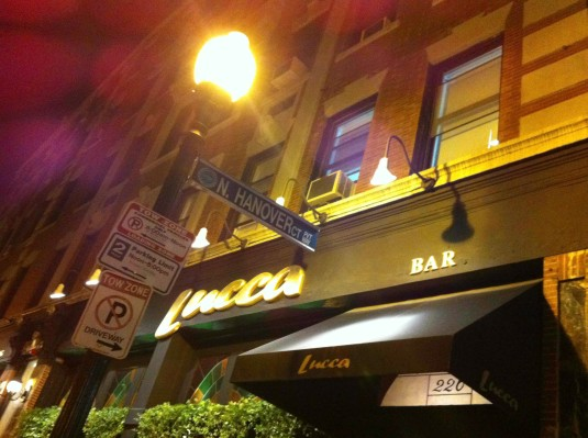Lucca, The North End Boston